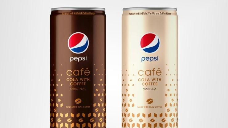 Pepsi Cafe y Pepsi Cafe Vanilla