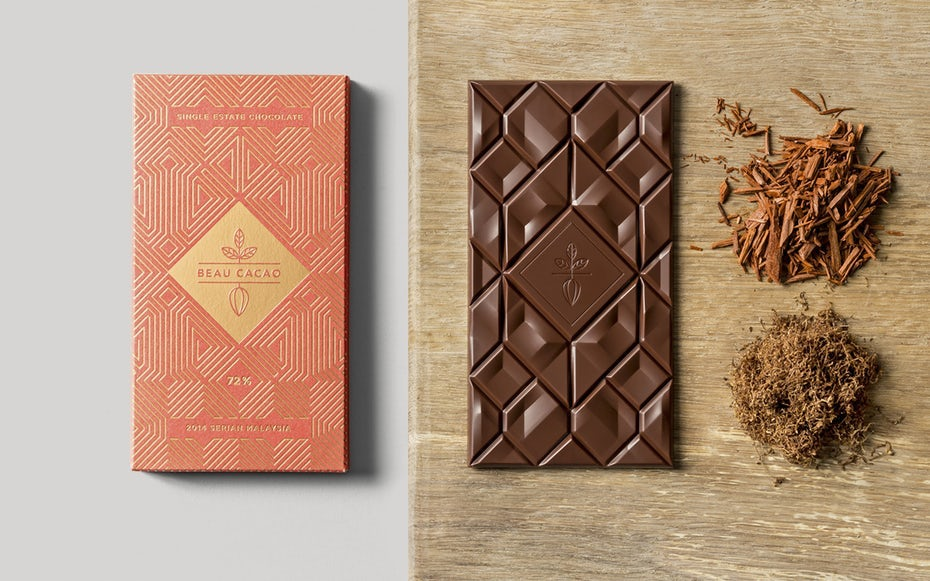 Beau Cacao packaging