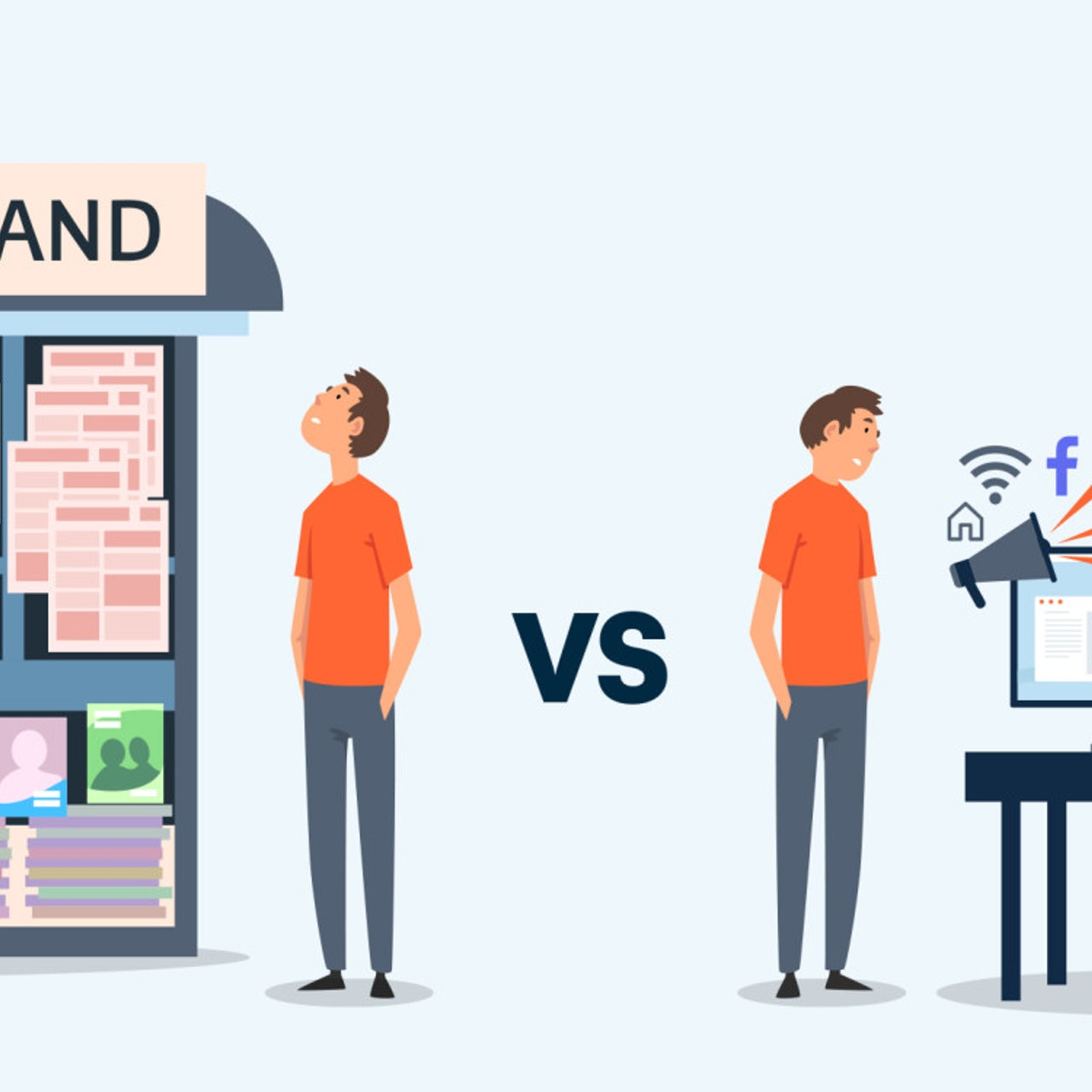 Digital Marketing Vs Traditional Marketing What S The Difference 99designs
