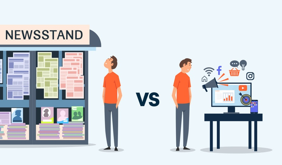 Digital marketing vs. traditional marketing: what's the difference?