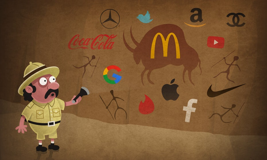 history of branding illustration