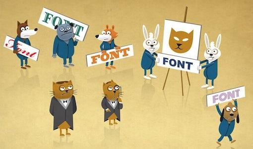 Wie du die richtige Schriftart für dein Logo auswählst