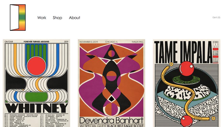 Aaron Lowell Denton grafikdesigner portfolio
