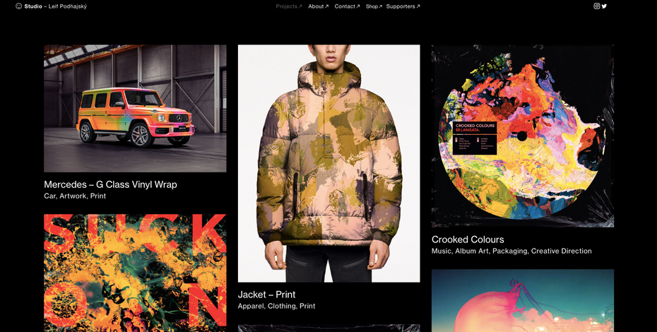 Leif Podhajsky graphic design portfolio