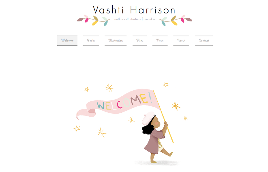 grafikdesigner portfolios: Vashti Harrison portfolio website