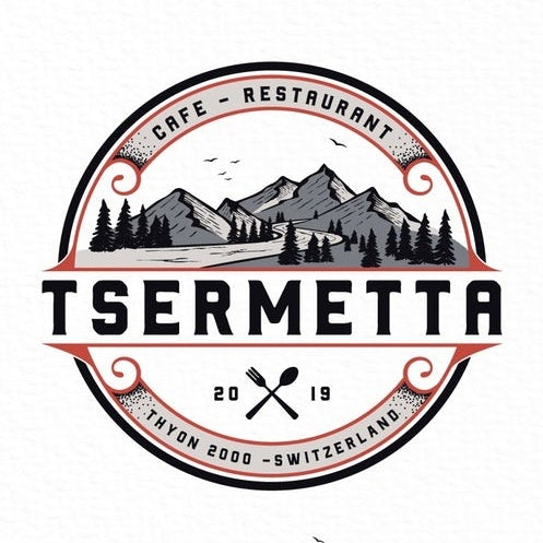 Tsermetta mountain logo