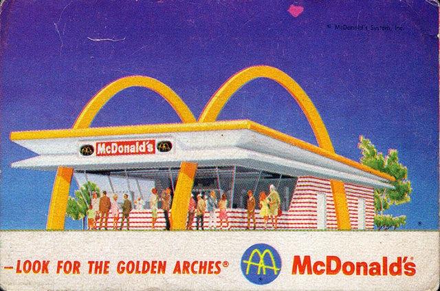 Branding Geschichte: Alte McDonald's Werbung