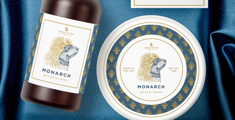 Noble Otter Monarch packaging