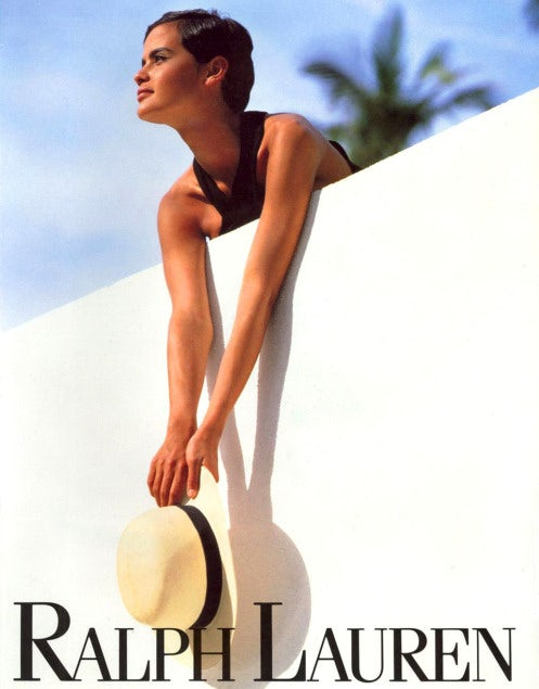 Outdoors Ralph lauren magazine ad from the 90s