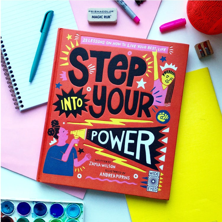 andrea pippins illustration step into your power