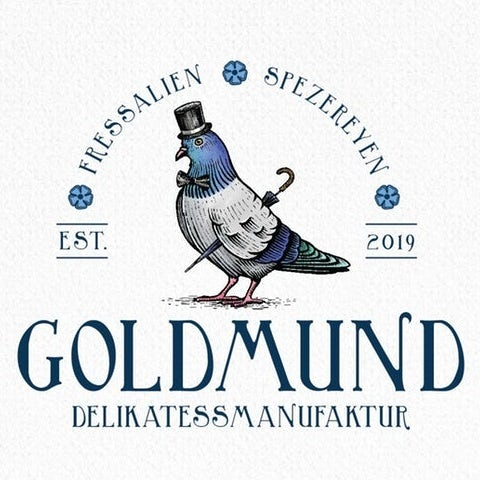 Goldmund pidgeon logo