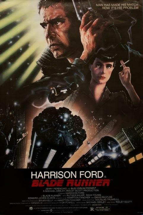 Bladerunner Ridley Scott Poster