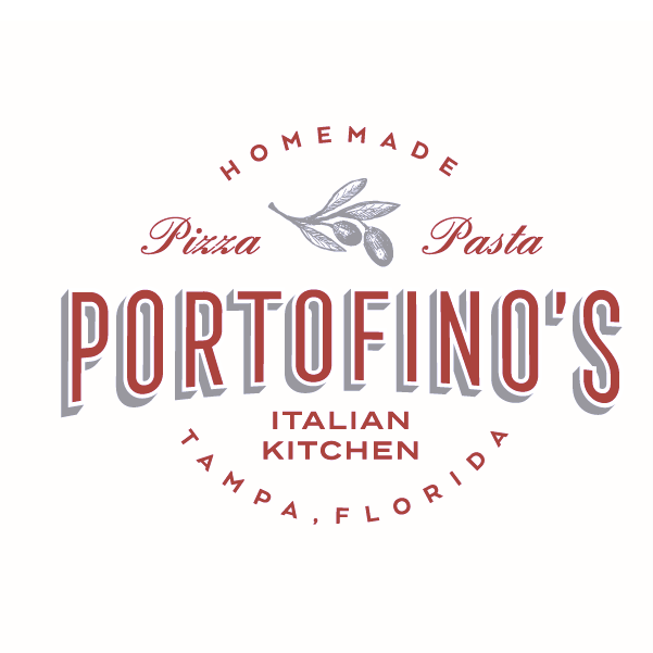 Food branding logo: Portofino's Italian Kitchen