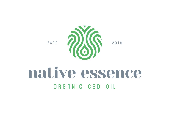 Logo for Native Essence Organic CBD oil