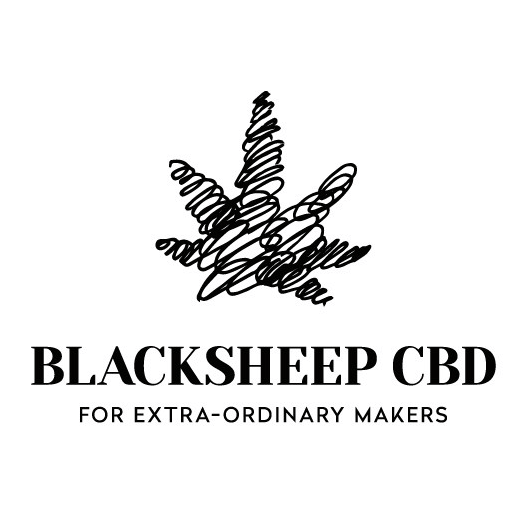 Blacksheep CBD logo design