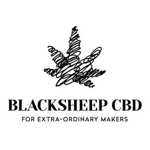Blacksheep CBD logo design