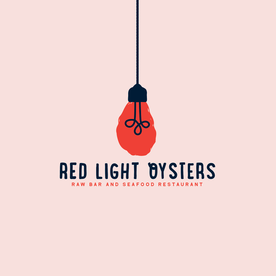 Red light oysters logo