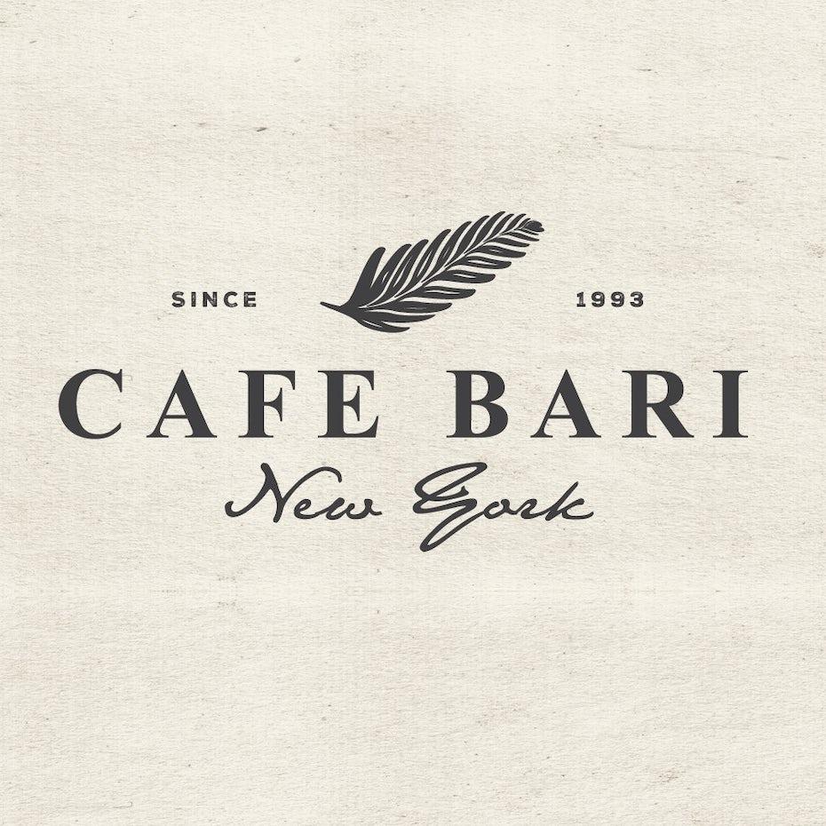 Cafe bari logo
