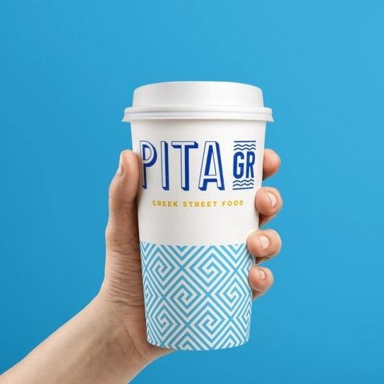 Pita grill brand identity pack