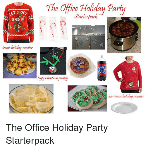 Starterpack for an office party