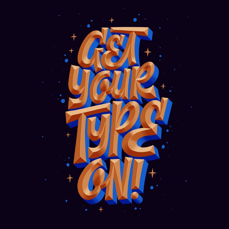 Get your type on 3D lettering