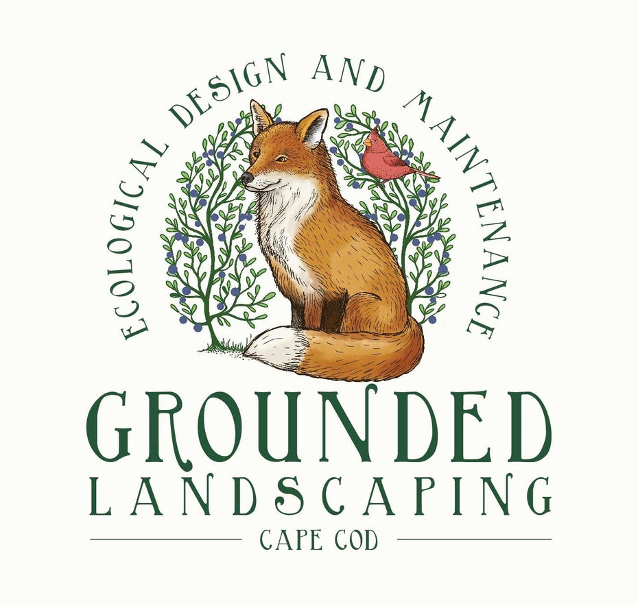 grounded landscaping logo