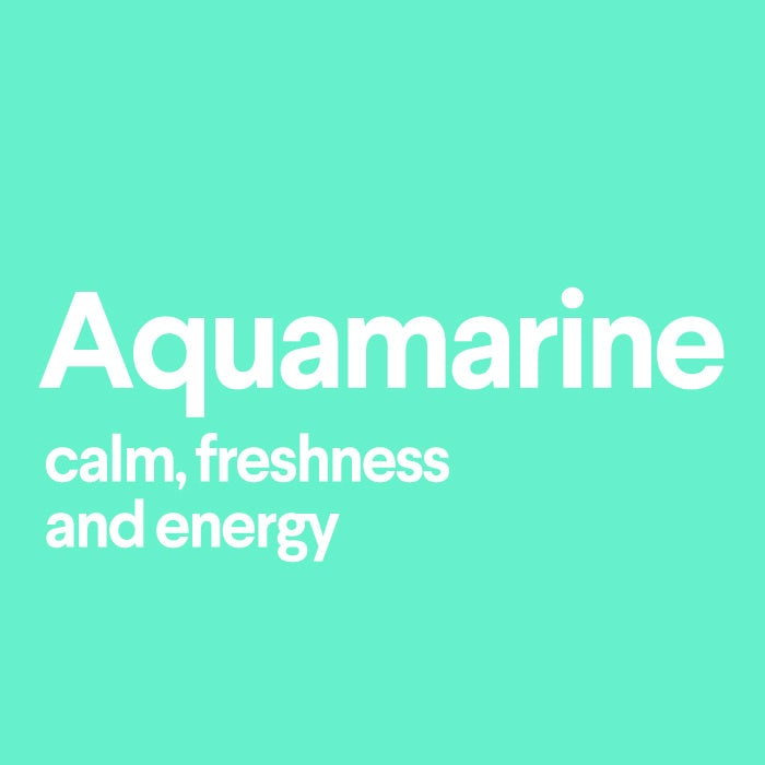 what does aquamarine mean