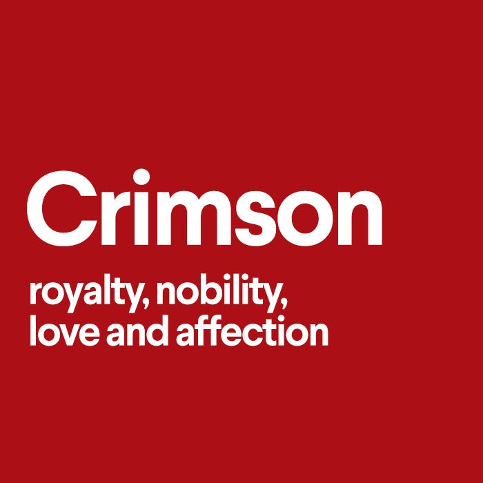 what does crimson mean