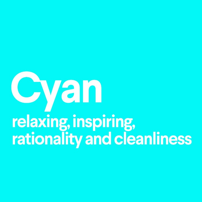 what does cyan mean
