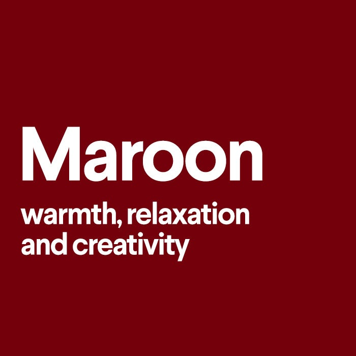 what does maroon mean
