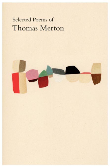 collage book cover design showing multiple abstract shapes made of different colored paper
