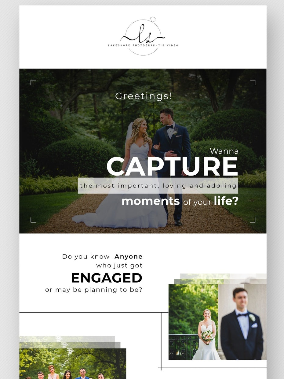 photo-heavy, minimalist photography newsletter