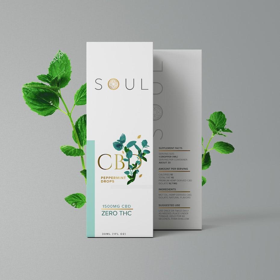 elegant cbd packaging