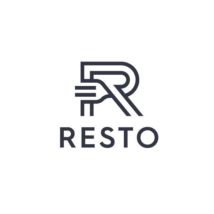 Resto restaurant logo