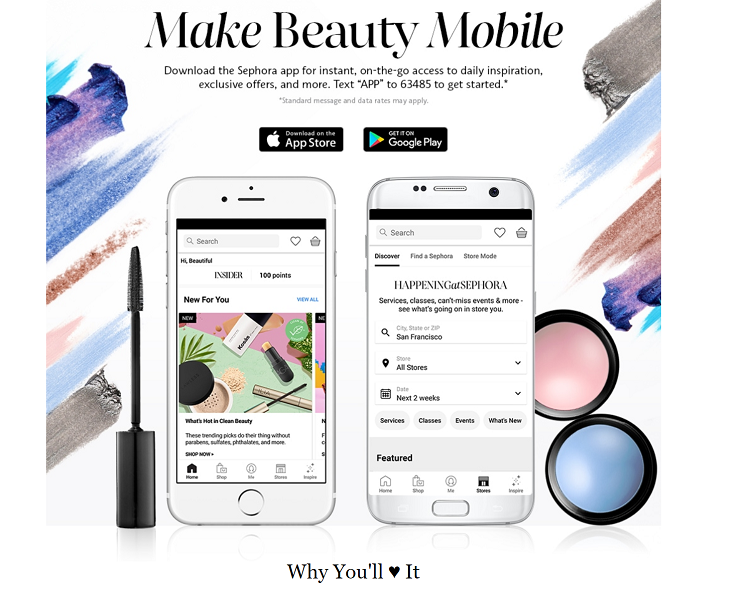 Sephora app ad