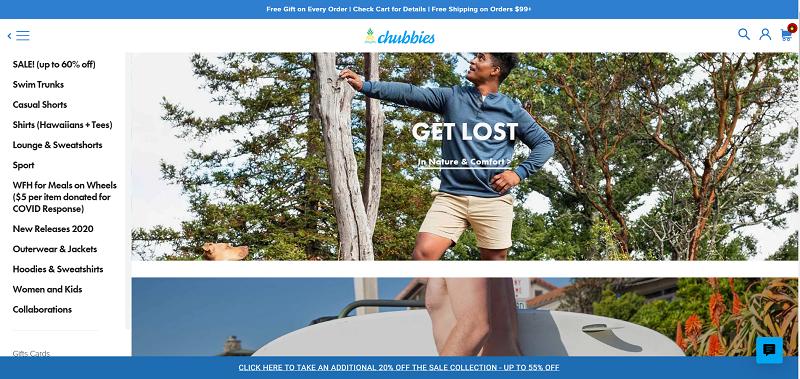Site web de chubbies