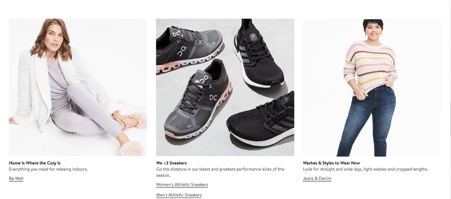 Nordstrom website