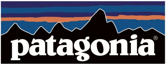 what company has a mountain logo
