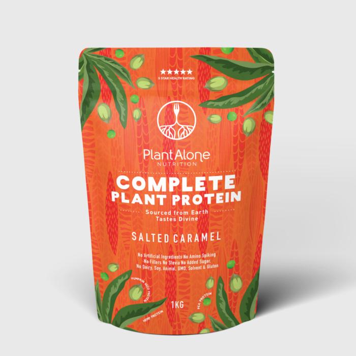 rotes verpackungsdesign für PlantAlone