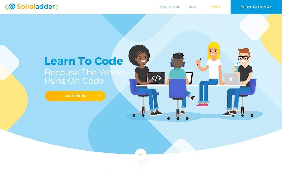 Spiraladder website