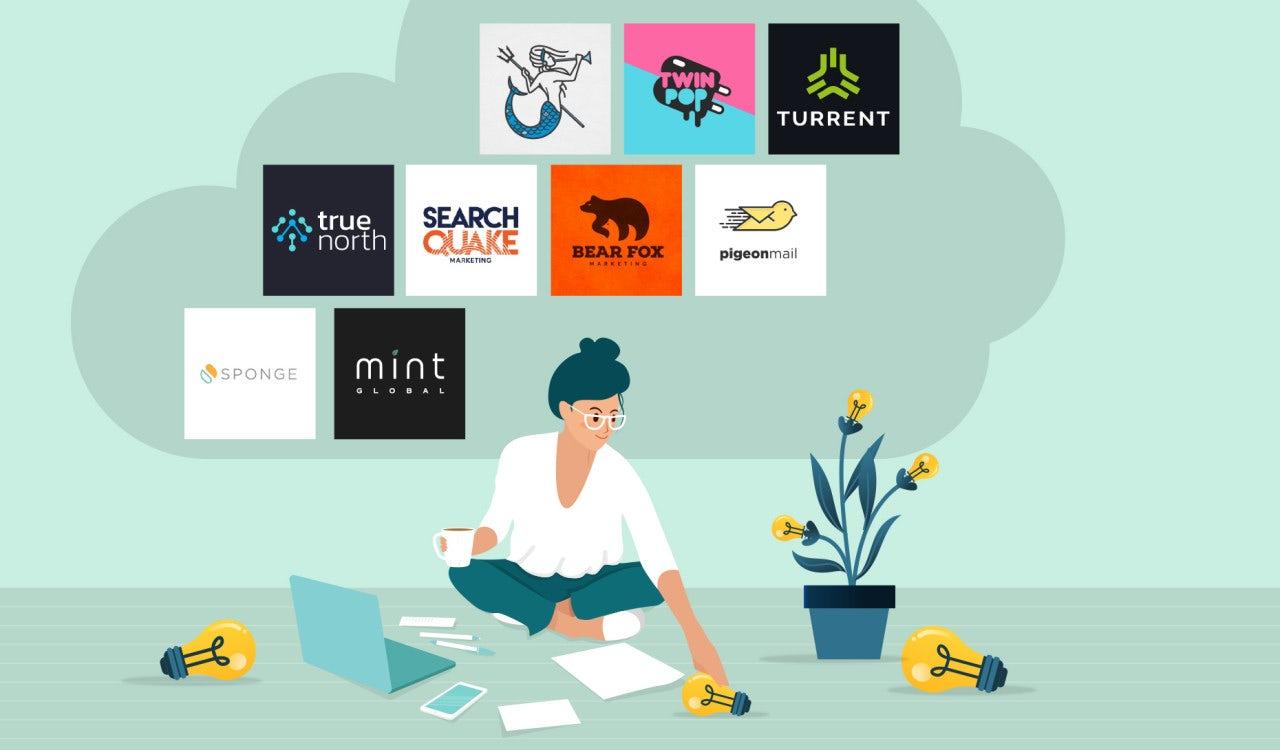 Creative Digital Marketing Logo Ideas / Use our free logo ...