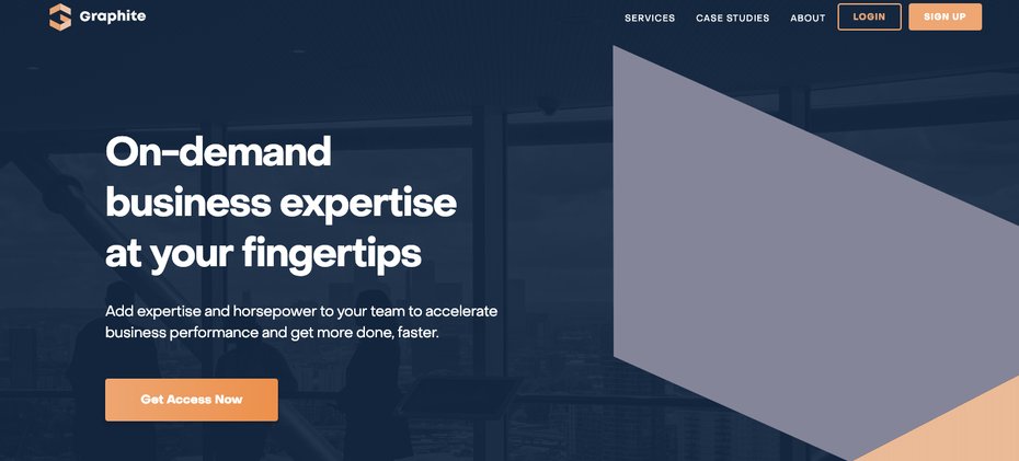 Graphite's homepage