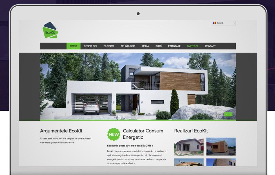 Real estate web page design