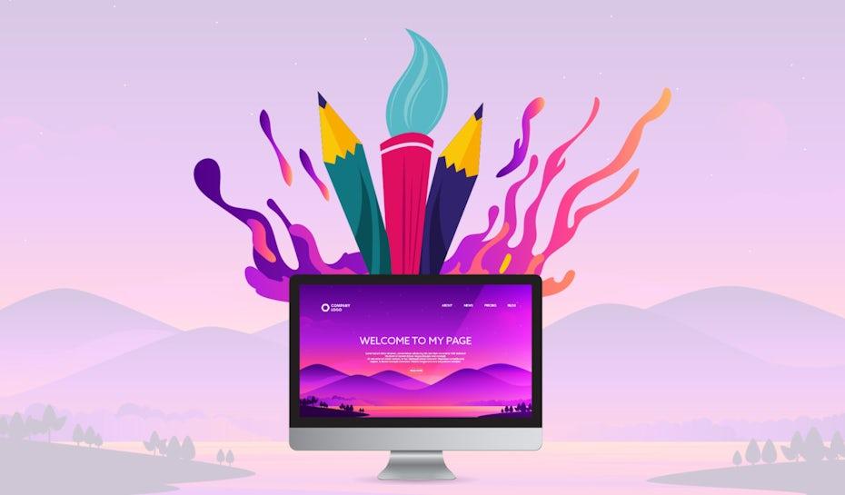 Website illustration