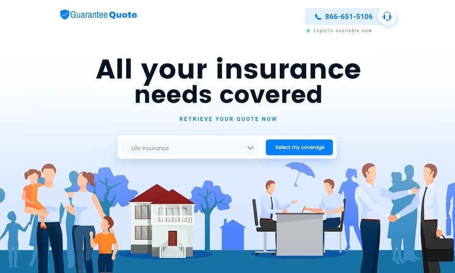 Guarantee Quote website