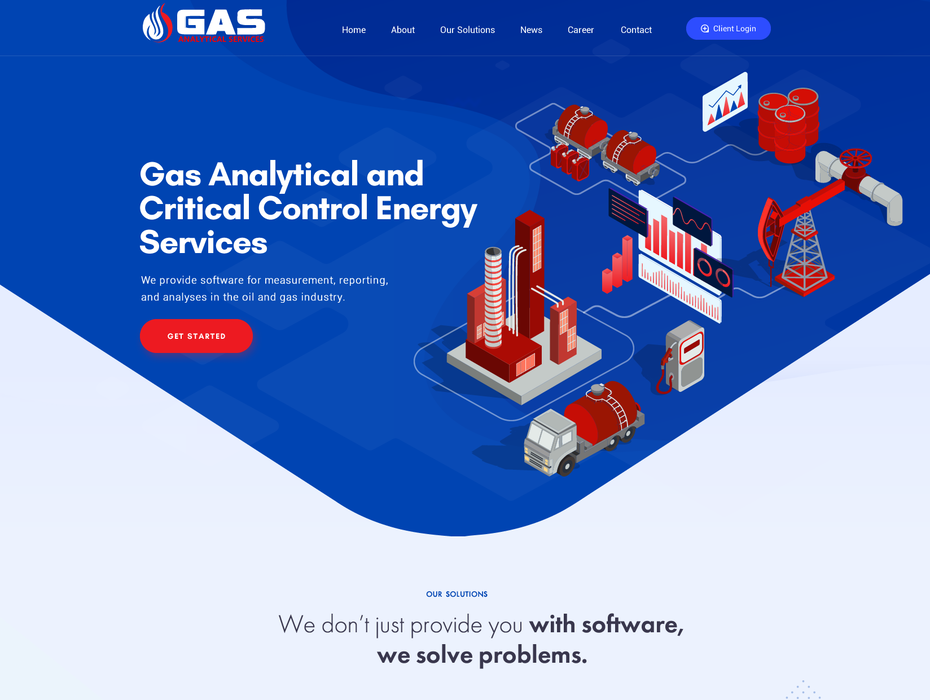 Gas Analytical website