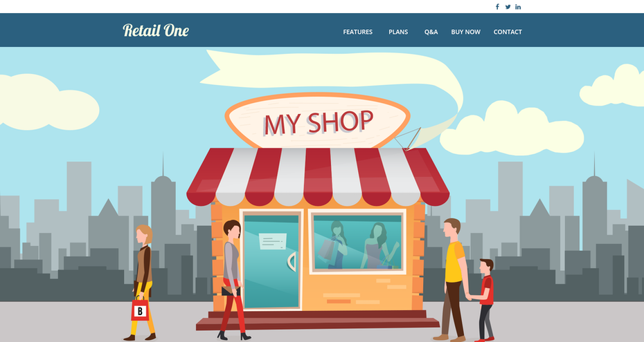 Retail One website