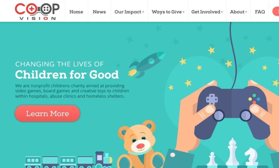 Co Op Vision website