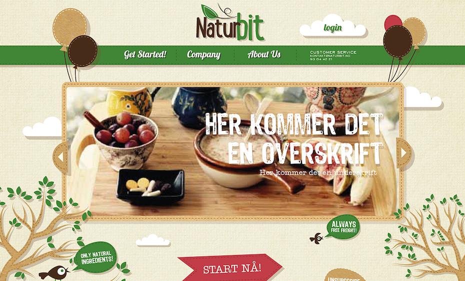 Naturbit website