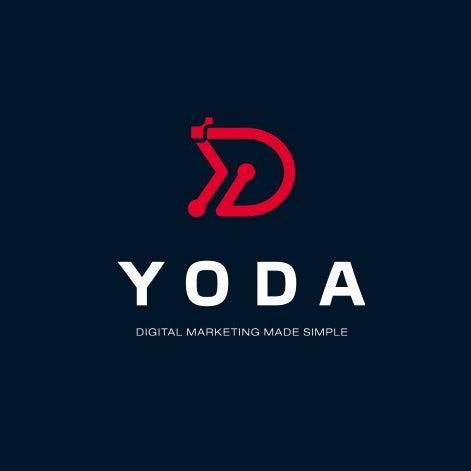 Technology-themed digital marketing logo